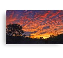 """Burning Sky"" Canvas Print"