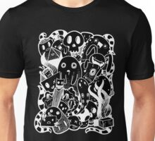 Little Doodle Monsters #1(inverted) Unisex T-Shirt