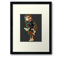 Dickies Monkey Framed Print