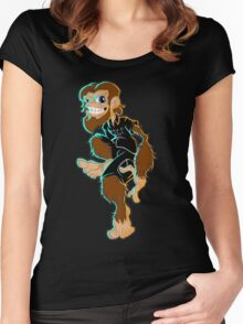 Dickies Monkey Women's Fitted Scoop T-Shirt