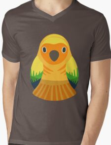 Sun Conure Nesting Doll Mens V-Neck T-Shirt
