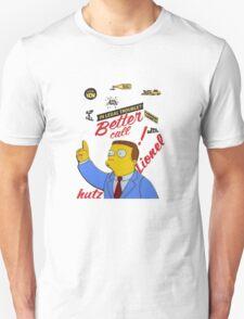 better call leonel hutz Unisex T-Shirt
