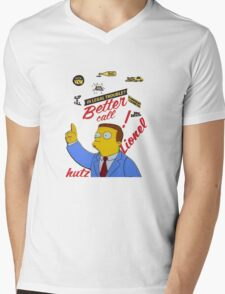 better call leonel hutz Mens V-Neck T-Shirt