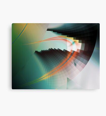 Multi-Color Abstract Symbol Canvas Print
