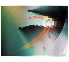 Multi-Color Abstract Symbol Poster