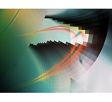 Multi-Color Abstract Symbol Photographic Print
