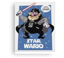 Star Wars - Darth Wario Canvas Print
