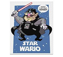 Star Wars - Darth Wario Photographic Print