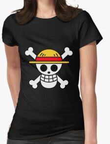 Mugiwara pirates Womens Fitted T-Shirt
