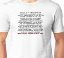 Ezekiel 25:17 Speech Unisex T-Shirt