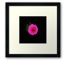 Painted Flower Framed Print