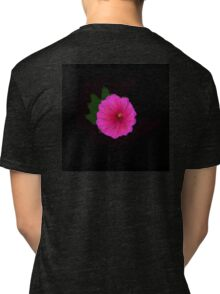 Painted Flower Tri-blend T-Shirt