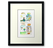Season in the jar Framed Print