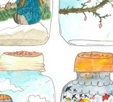 Season in the jar Sticker