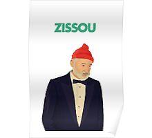 Zissou Bill Murray Poster