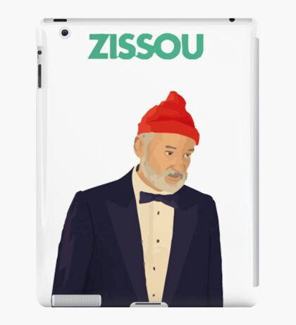 Zissou Bill Murray iPad Case/Skin