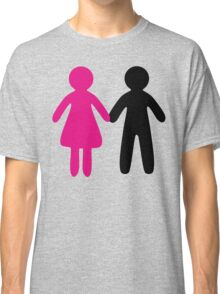 Colorful Pair Classic T-Shirt
