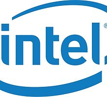intel logo by 001100001