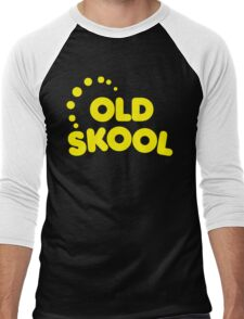 Old Skool Music Quote Men's Baseball ¾ T-Shirt