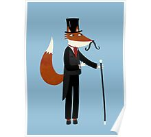 Mr Fox Takes a Stroll Poster