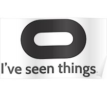 I've seen things Poster