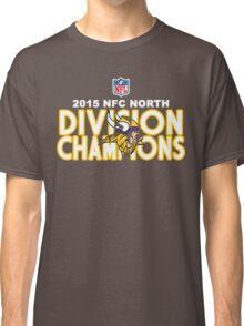 Minnesota Vikings - 2015 NFC North Champions Classic T-Shirt