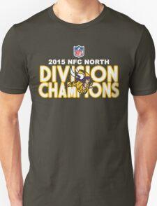 Minnesota Vikings - 2015 NFC North Champions Unisex T-Shirt