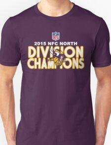Minnesota Vikings - 2015 NFC North Champions T-Shirt