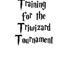 Training for the Triwizard Tournament by theloneblonde