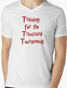 Training for the Triwizard Tournament Mens V-Neck T-Shirt