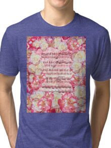 Waltz Of The Flowers Sweet Roses Tri-blend T-Shirt