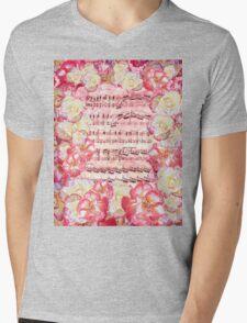 Waltz Of The Flowers Sweet Roses Mens V-Neck T-Shirt
