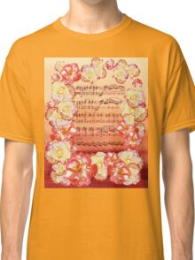 Waltz Of The Flowers Dancing Roses Classic T-Shirt