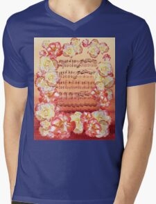 Waltz Of The Flowers Dancing Roses Mens V-Neck T-Shirt