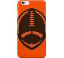 Vector Football - Brown iPhone Case/Skin
