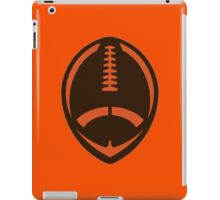 Vector Football - Brown iPad Case/Skin