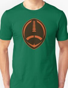 Vector Football - Brown Unisex T-Shirt