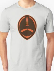 Vector Football - Brown T-Shirt
