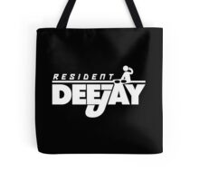 Resident Deejay Music Quote Tote Bag