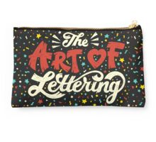 The Art of Lettering Studio Pouch