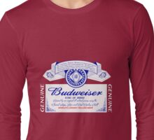 Budweiser  Long Sleeve T-Shirt