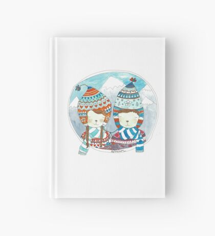 Winter hats Hardcover Journal