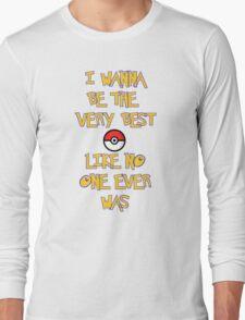 Pokemon Theme Long Sleeve T-Shirt