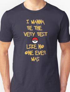 Pokemon Theme Unisex T-Shirt
