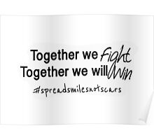Together we fight Poster