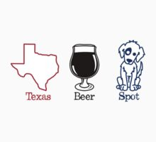 Texas Beer Spot Kids Clothes