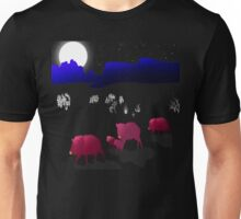 They Walk By Night Unisex T-Shirt