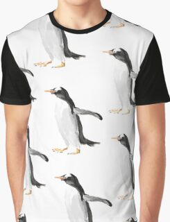 Flying Penguins Graphic T-Shirt