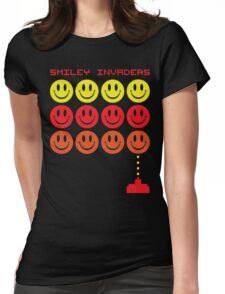 Smile Invaders Gaming Quote Womens Fitted T-Shirt