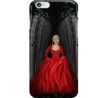 Emma Swan Running Through A Dark Forest  iPhone Case/Skin